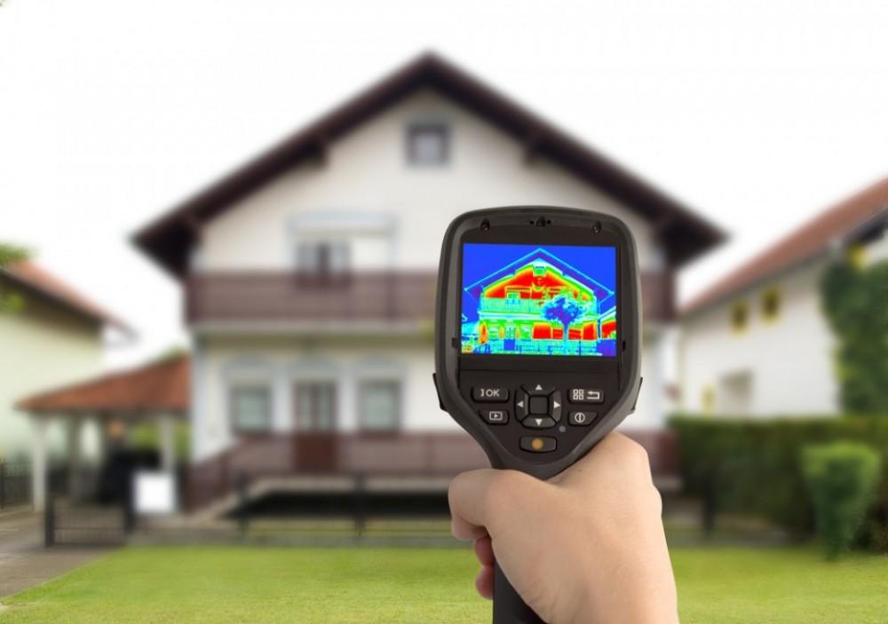 infraroodcamera voor luchtlekken op te sporen
